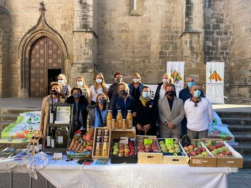 Imatge de la notícia Dones de l'Horta de Lleida tindran parades al mercadet d'aquest dissabte amb els seus productes de proximitat