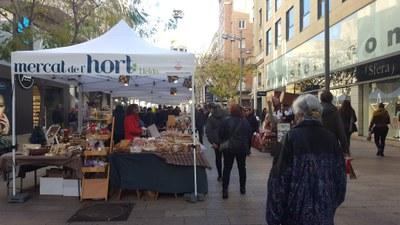 El Mercat de l'Hort torna a la plaça Sant Joan per festes i comptarà amb control d'aforament
