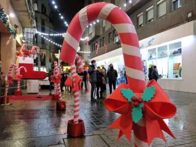Els comerciants dels carrers Democràcia i Cardenal Remolins presenten la campanya de Nadal