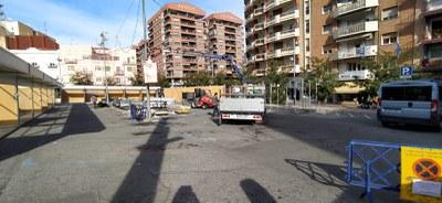 Els Mercats de Nadal de Lleida s'instal·len enguany a la zona d'aparcament de davant de l'Auditori