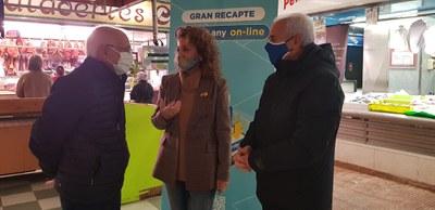 Els Mercats Municipals de Fleming i Cappont participen en el Gran Recapte d'Aliments 2020