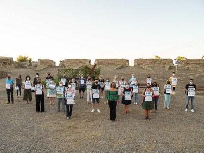Fotografies de l'acte de lliurament de Premis de la campanya Compra i Descobreix Catalunya 2021