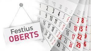 La Paeria designa el 27 de juny i el 12 de desembre de 2021 com a dies d'obertura comercial permesa