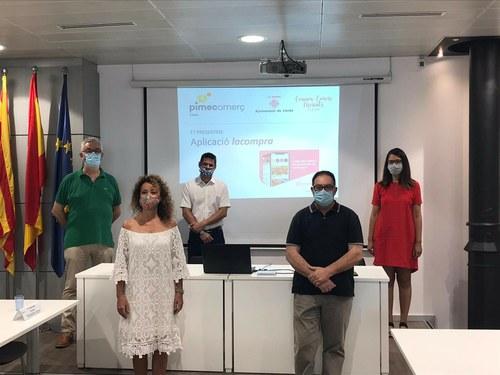 Imatge de la notícia La Paeria dona suport a l'aplicació lacompra impulsada per PIMEComerç Lleida