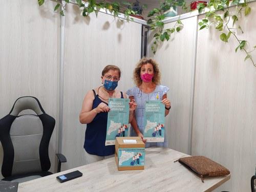 Imatge de la notícia La regidora Marta Gispert es reuneix amb l'Associació de Comerciants i Empresaris de Magraners