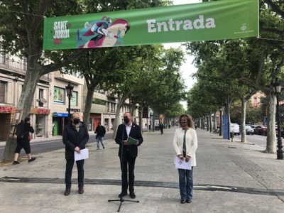 Lleida celebra de nou la Diada de Sant Jordi