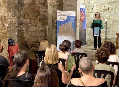 Lliurament de premis de la campanya 'Compra i descobreix Catalunya', al castell templer de Gardeny