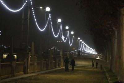 Llums als ponts i a la canalització per contribuir a la dinamització comercial de Lleida