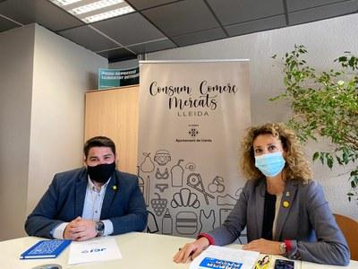 Marta Gispert es reuneix amb la Jove Cambra Internacional de Lleida
