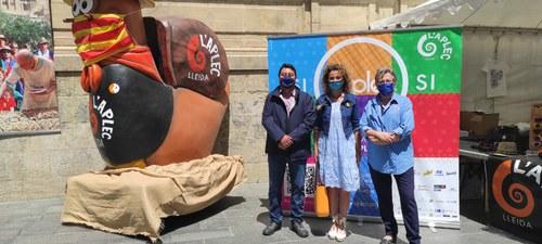 Imatge de la notícia Marta Gispert visita la Botigueta de l'Aplec