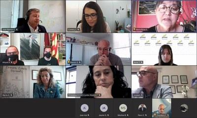 Reunió de seguiment amb els sectors econòmics i socials de Lleida