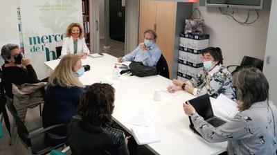 Reunió de treball amb el veïnat i comerciants de Noguerola per dinamitzar l'entorn