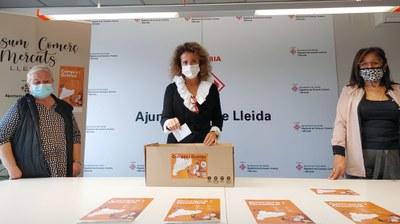 Sorteig de la campanya Compra i guanya, a Lleida